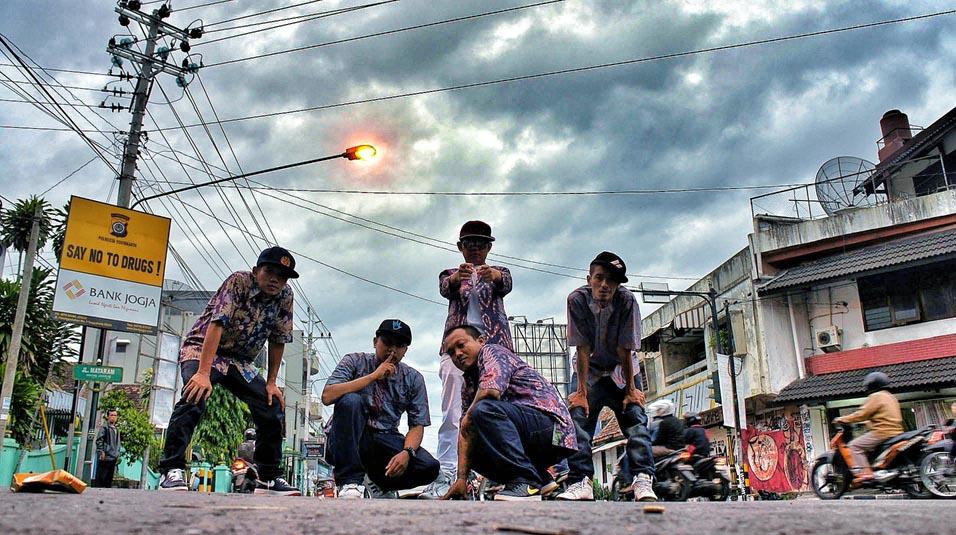JHF crew hit the street 2012