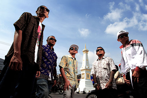 Jogja Hip Hop Foundation di Tugu - photo by @kristupa